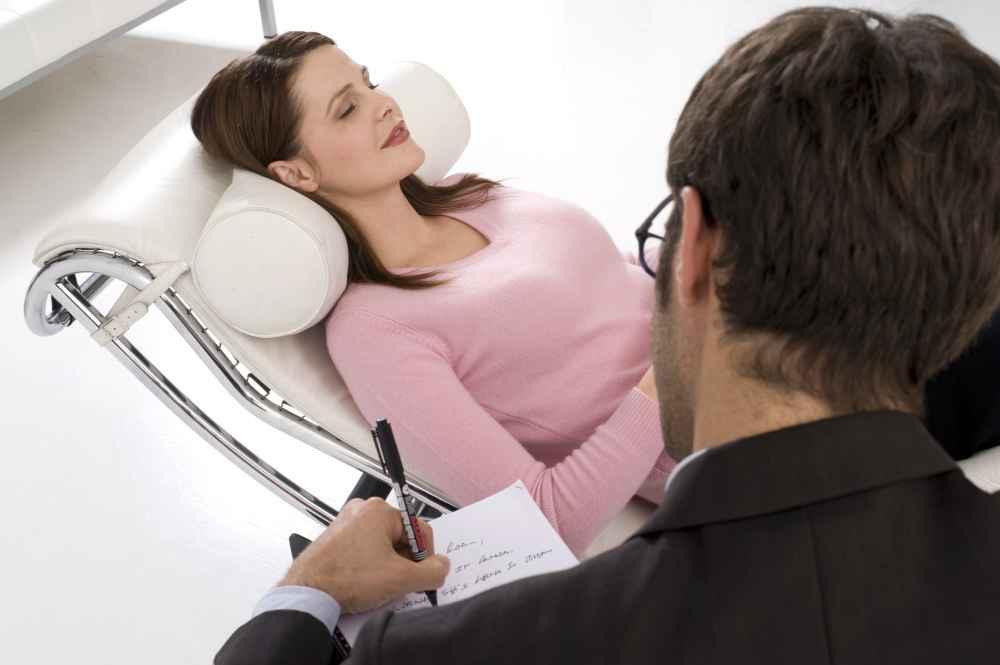 kobieta na terapii psychologicznej